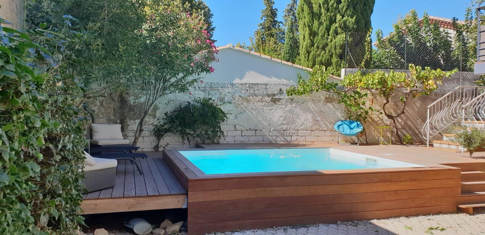 R alisation d 39 une piscine sur mesure en b ton salon de Piscine salon de provence canourgues