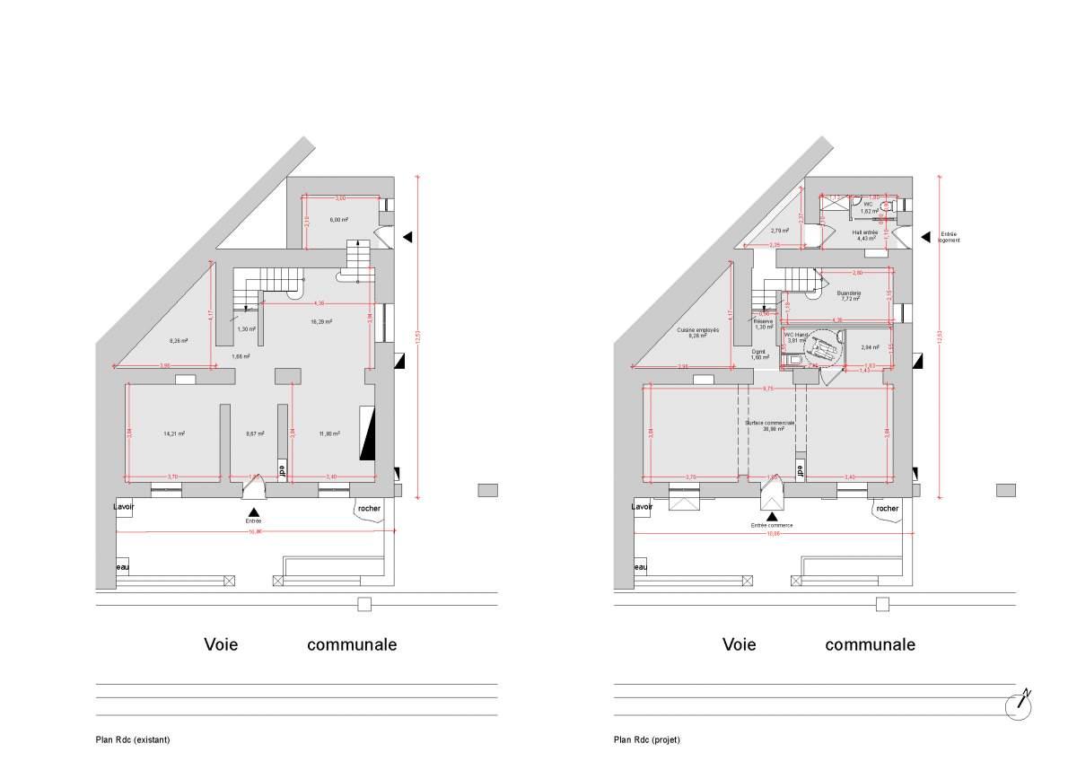 architecte pour r novation de maison individuelle fontaine de vaucluse 84 agence. Black Bedroom Furniture Sets. Home Design Ideas