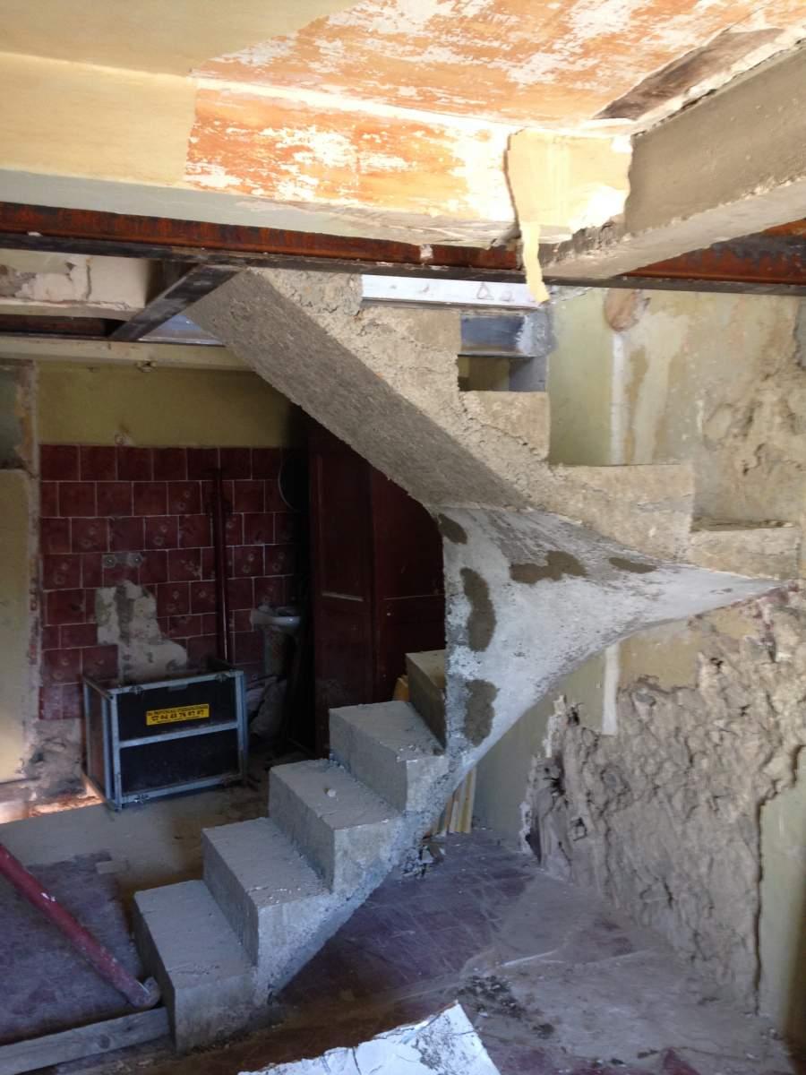 cr 233 ation d un escalier int 233 rieur 224 eygui 232 res agence architecture provence philippe serre