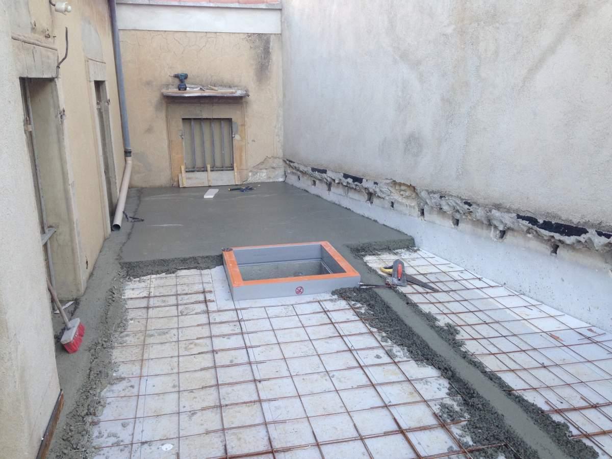 r alisation d 39 un toit terrasse 13300 salon de provence agence architecture provence philippe