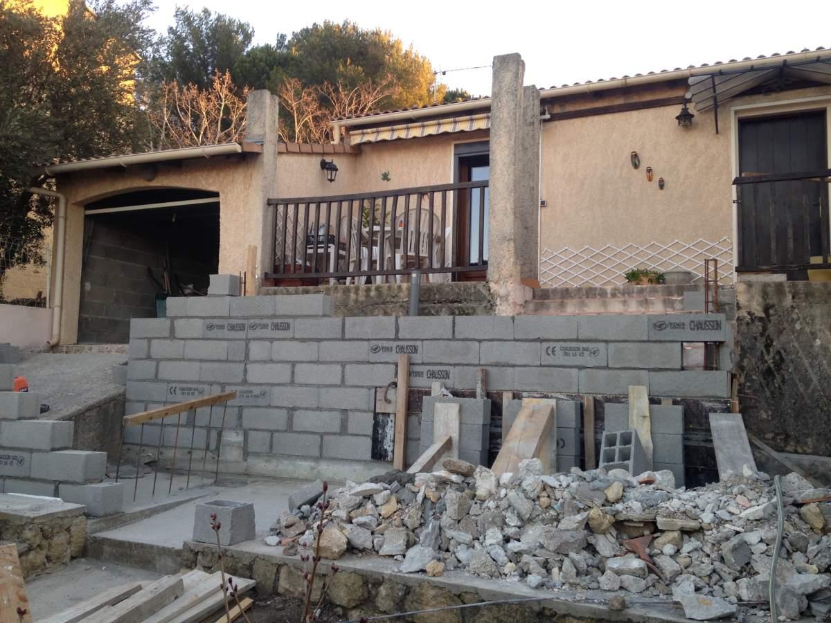 Agrandissement terrasses 13300 salon de provence am nagement d 39 int rieur sur aix en provence - Meteo 13300 salon de provence ...