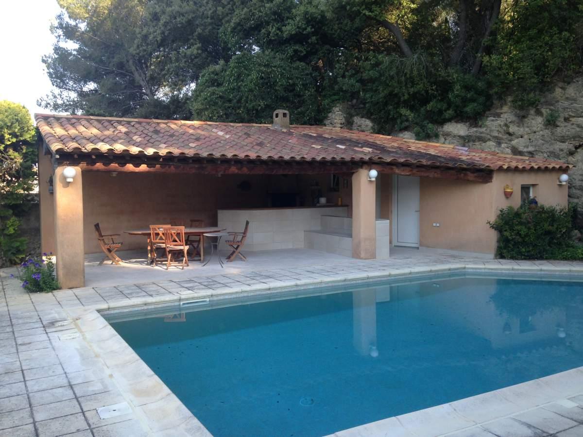 carrelage pool house 13100 aix en provence - aménagement d'intérieur