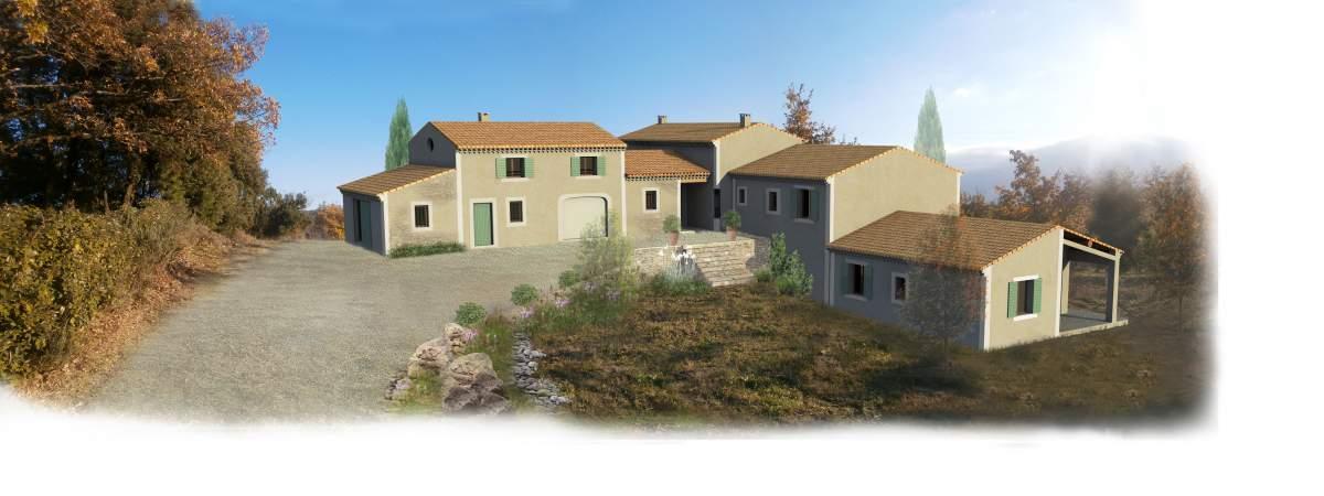 Permis de construire pour une maison individuelle avec un garage et un g te saint est ve for Construire une maison individuelle