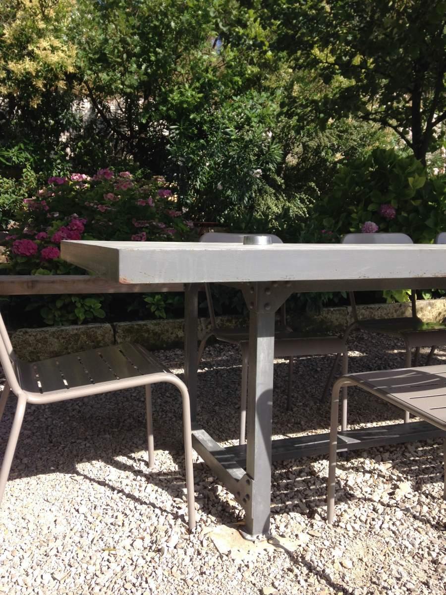 Mobilier de jardin d 39 int rieur agence architecture - Mobilier urbain jardin public la rochelle ...